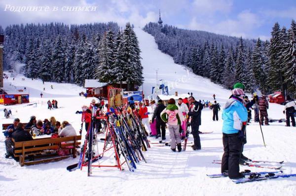 Снегът на вр. Снежанка достигна 1.50 м, добри са условията за ски