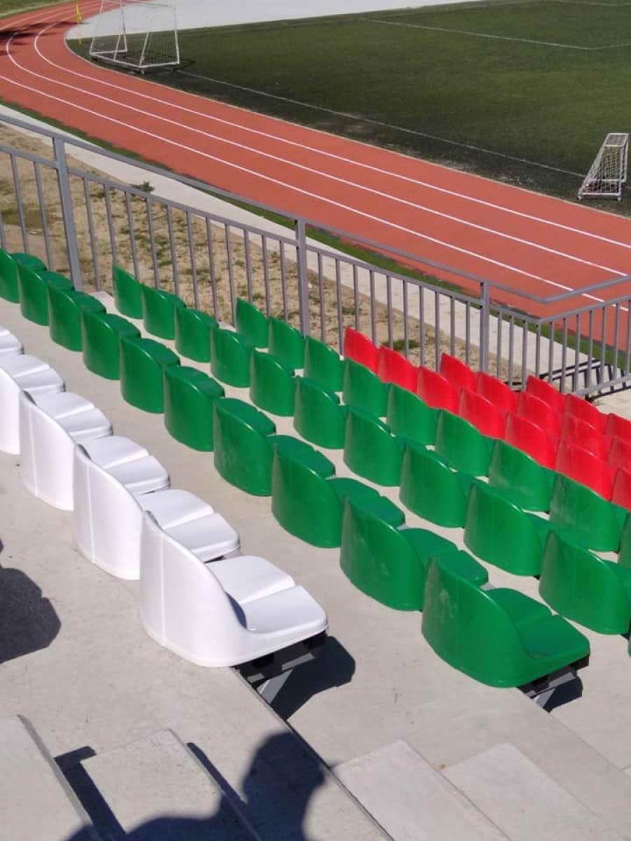 Стадионът в Смолян също бе обновен