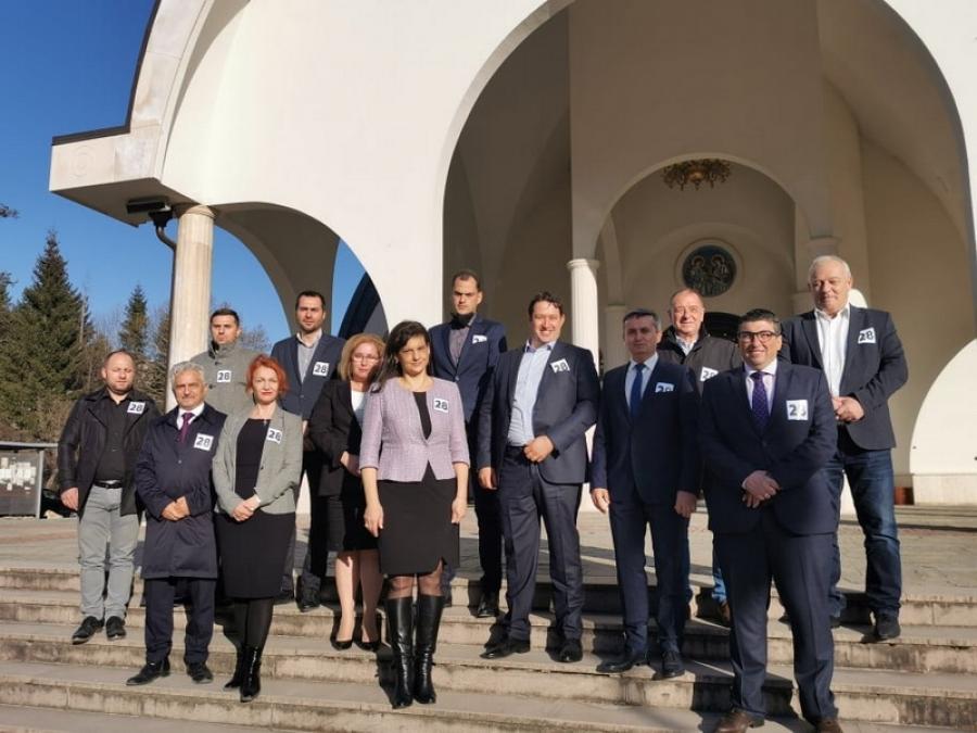 С молебен, ГЕРБ-СДС в Смолян стартира предизборната си кампания