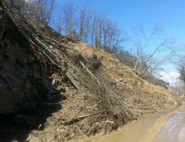 Стартира обществена поръчка за обезопасяване на срутището на пътя Асеновград - Смолян