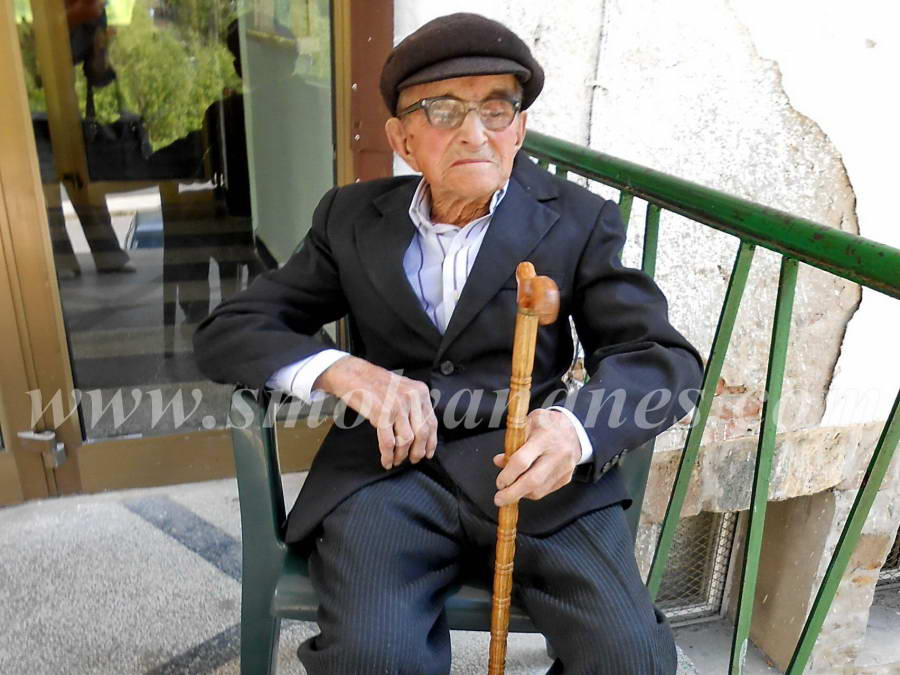 Столетникът Тома Чолаков