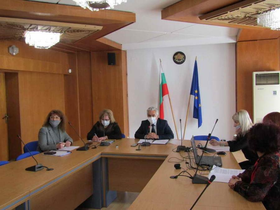 Областната комисия по заетост единодушно прие Предложението за държавен план-прием за учебната 2021/2022 година