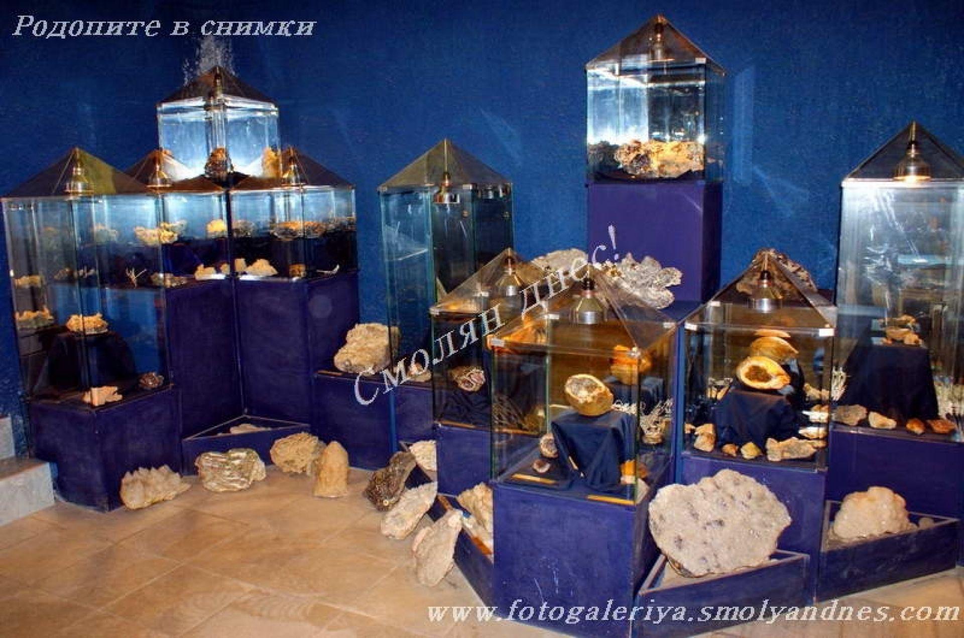 Кристална зала Родопски кристал - град Мадан