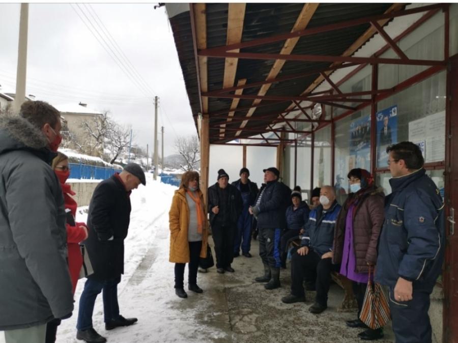 Александър Симовкъм жителите на Баните: Трябва да разтърсим статуквото!