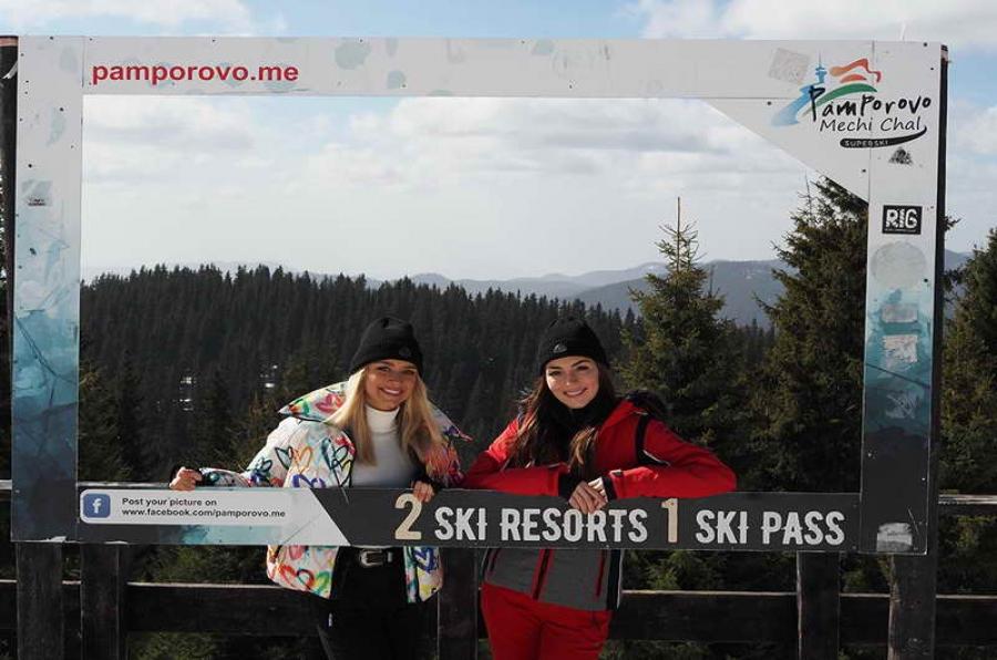 Отлични условия за зимни спортове в Пампорово въпреки топлото време
