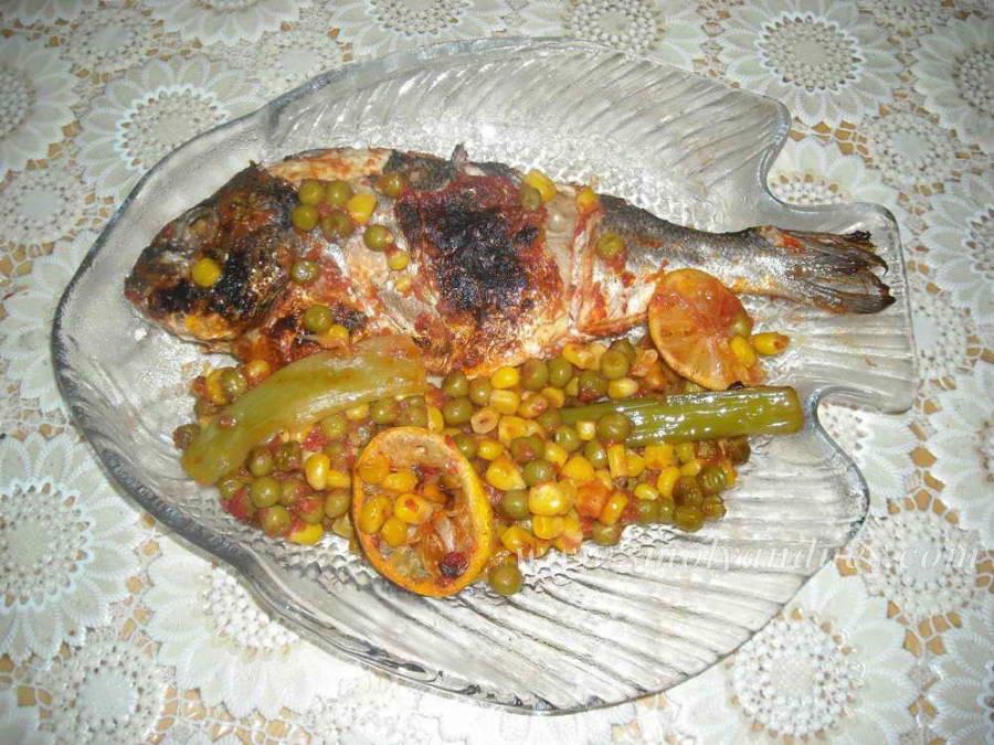 Ципура със зеленчуци