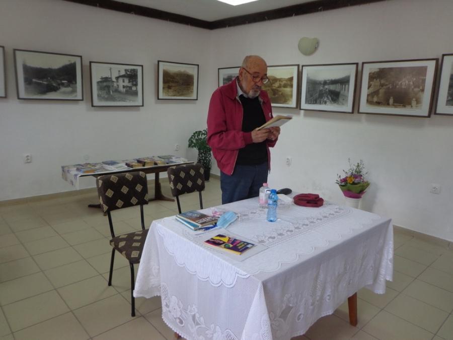 Творческа среща с писателя Георги Чаталбашев развълнува райковци