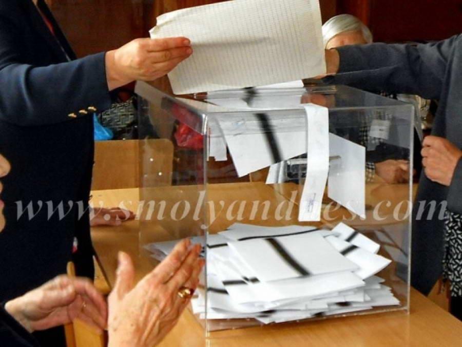 Коалиция за България води в Смолянска област с около 3 %