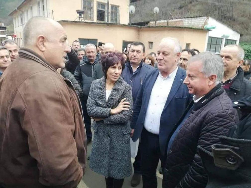Премиерът Бойко Борисов инспектира днес  ремонтирания път Кричим - Михалково – Смолян