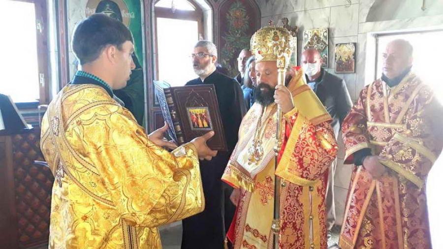 """Епископ Висарион: """"Делото на светите братя озари и просвети в Христовата истина всички славянски народи."""""""