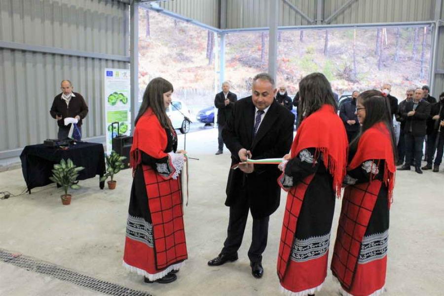 Кметът на Община Доспат инж. Елин Радев откри официално компостираща инсталация и инсталация за предварително третиране на отпадъци за общините от РСУО - Доспат