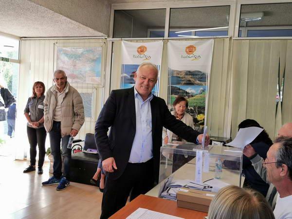 Николай Мелемов: Гласувах за благоденствието на Смолян, да се развива с още по-ускорени темпове