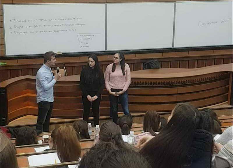 """Ученици от ЕГ """"Иван Вазов"""" бяха хонорувани преподаватели в ПУ-Пловдив"""