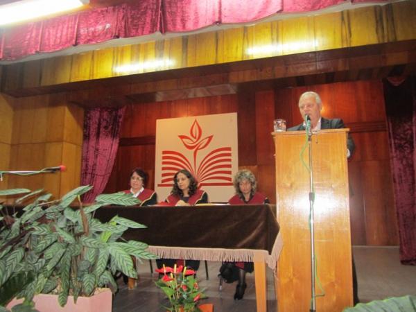 Кметът Мелемов  поздрави студентите и преподавателите във Филиала на ПУ по повод откриването на новата академична  година