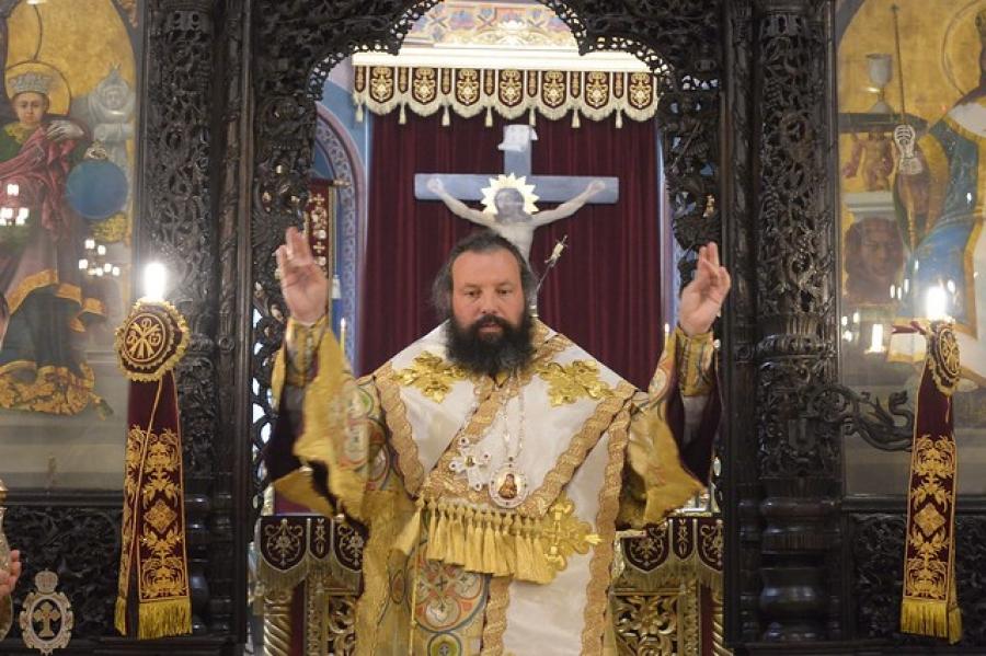 Пасхален поздрав на епископ Висарион
