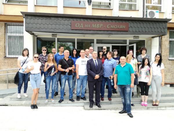 """В ОДМВР-Смолян се проведе инициативата """"Ден на отворените врати"""""""