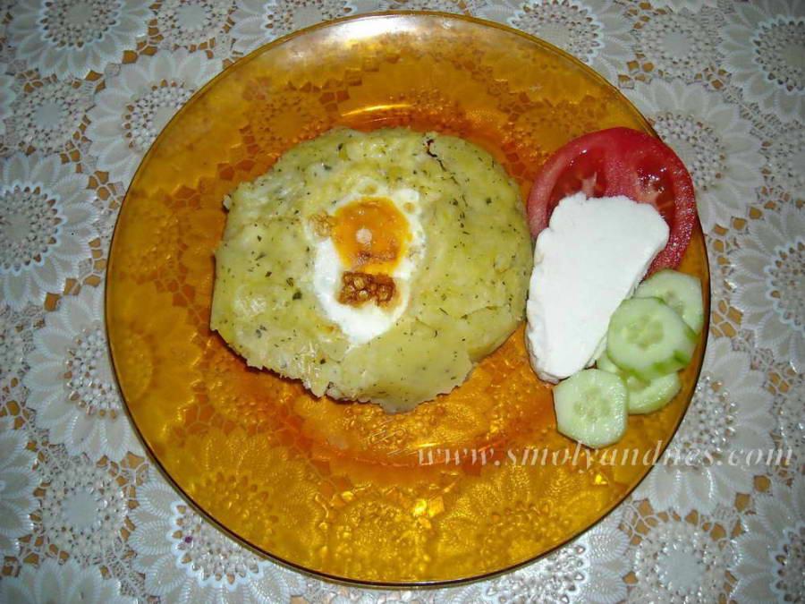 Гнезда от картофено пюре