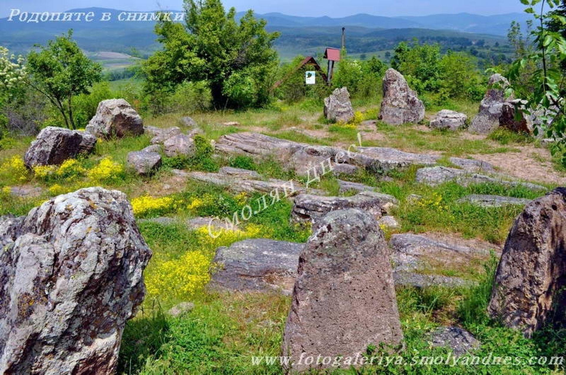 Култово светилище Кромлекс - село Долни Главанак