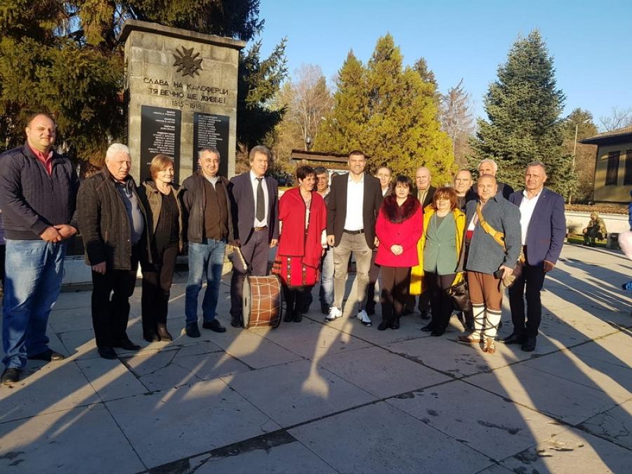 Кметове даряват лични средства за филм за Ботев