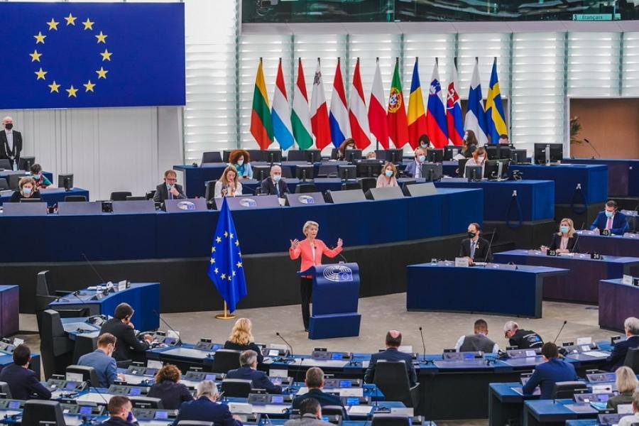 Състоянието на ЕС: борба с COVID-19, възстановяване, климат и външна политика