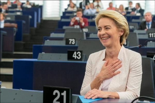 Парламентът избра Урсула фон дер Лайен за първата жена председател на Европейската  комисия