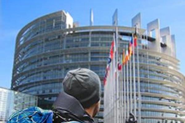 """Сградата """"Пол-Анри Спаак"""" на Европейския парламент"""