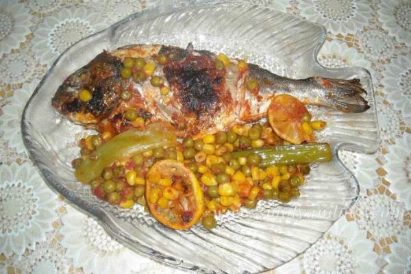 Ципура със зеленчуци в кесия
