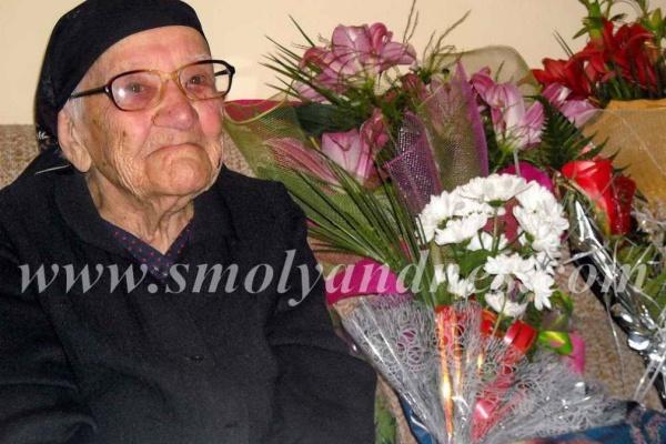 Столетницата баба Бисера:  Все едно съм на 50, а не на 100 години
