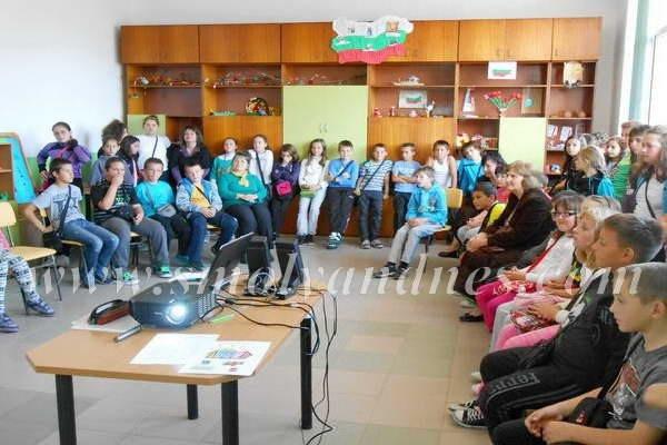 Децата от ІІ ОУ научиха основните си права като граждани на Европа