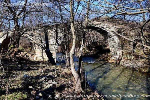 Старият мост - село Кирково
