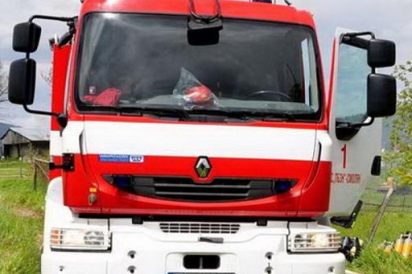 Пожар в рудник в Ерма река, край Златоград горяха сухи треви