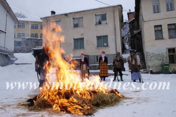 Кукерски празник на месни заговезни в Орехово